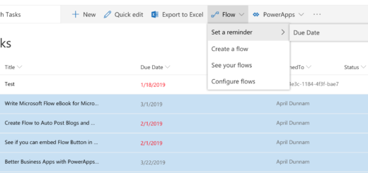 Automated Running Late Notice With Flow and Flic Button | April