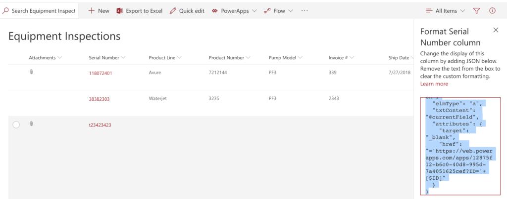 Opening PowerApp using SharePoint Column Formatting   April Dunnam